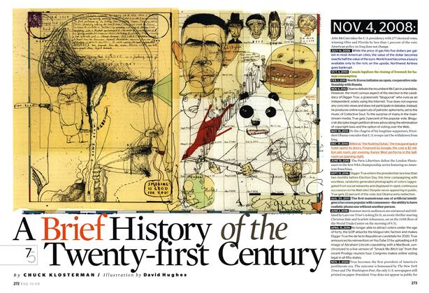 Article Preview: A Brief History of the Twenty-First Century, October 2008 | Esquire