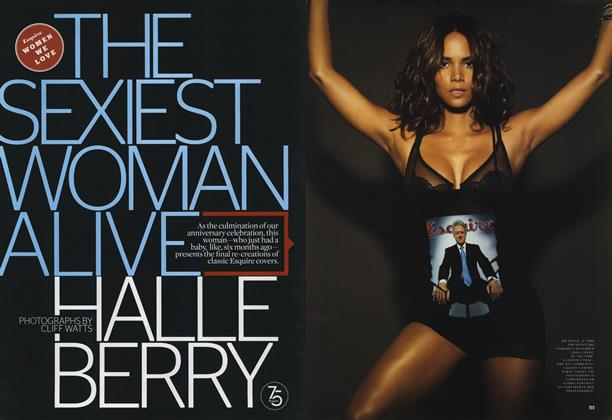 The Sexiest Woman Alive Is Halle Berry