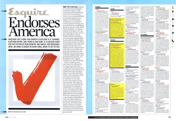 Esquire Endorses America