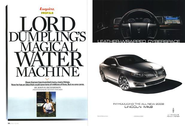 Lord Dumpling's Magical Water Machine