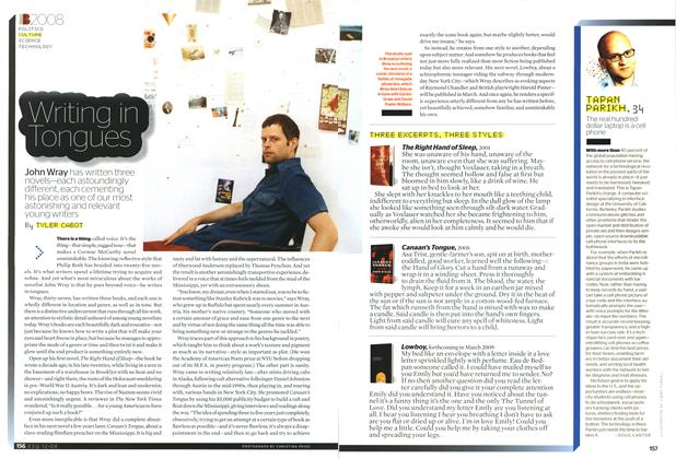 Article Preview: Writing in Tongues, DECEMBER 2008 2008 | Esquire
