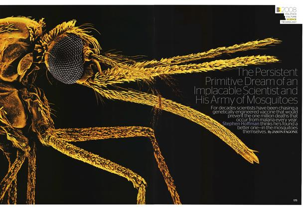 The Persistent Primitive Dream of an Implacable Scientist and His Army of Mosquitoes