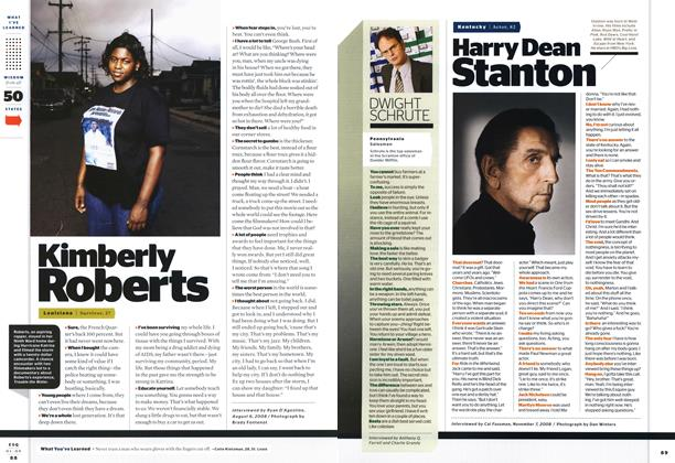 Article Preview: Harry Dean Stanton, JANUARY 2009 2009 | Esquire