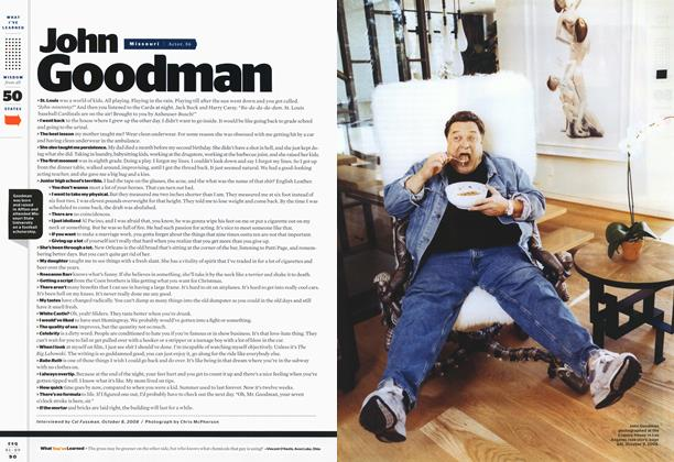 Article Preview: John Goodman, JANUARY 2009 2009 | Esquire