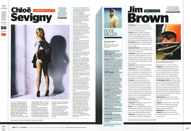 Article Preview: Jim Brown, January 2009 | Esquire