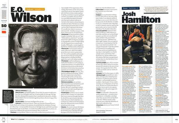 Article Preview: Josh Hamilton, January 2009 | Esquire