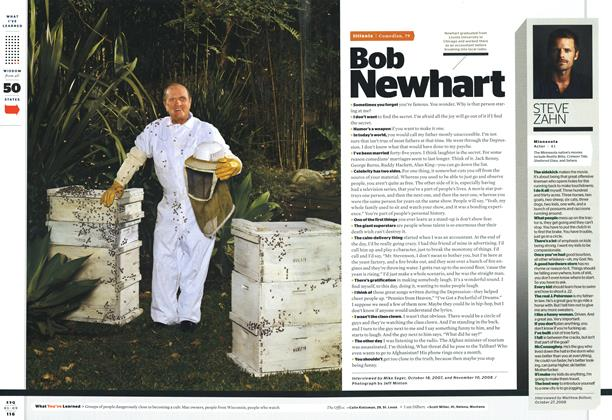 Article Preview: Bob Newhart, JANUARY 2009 2009 | Esquire