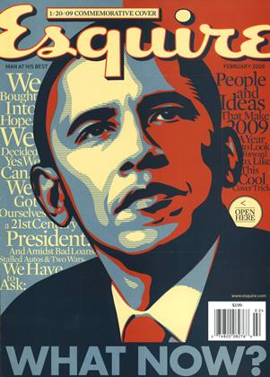 Cover for the February 2009 issue