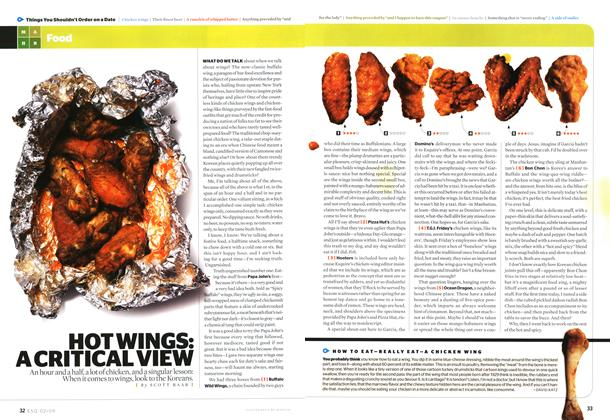 Hot Wings: A Critical View