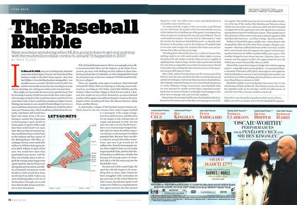 The Baseball Bubble