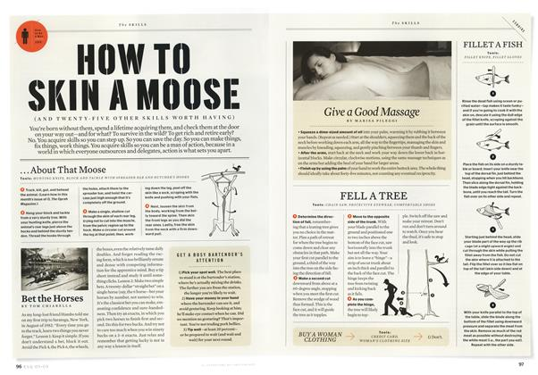 How to Skin a Moose