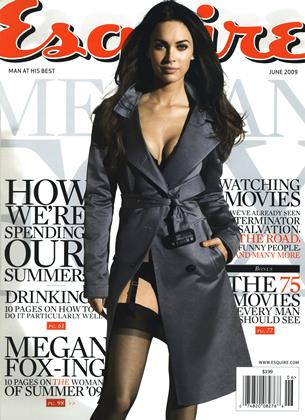 Cover for the June 2009 issue