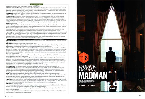 Article Preview: Barack Obama, Madman, July 2009 | Esquire