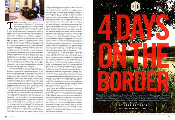 Four Days on the Border