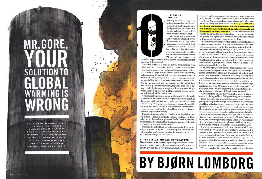 Mr  Gore, Your Solution to Global Warming is Wrong | Esquire