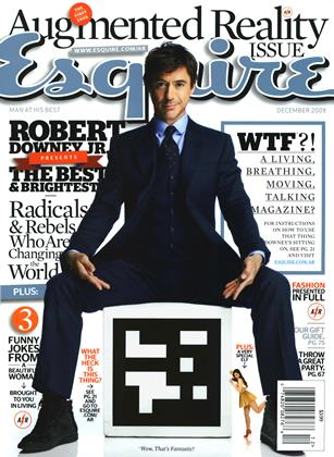 Cover for the December 2009 issue