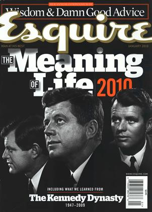 Cover for the January 2010 issue