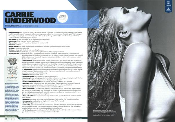 Article Preview: Carrie Underwood, JANUARY 2010 2010   Esquire
