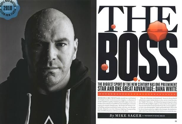 Article Preview: The Boss, February 2010 | Esquire