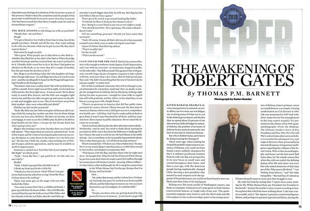 The Awakening of Robert Gates