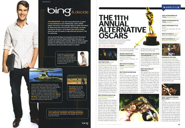 Article Preview: The 11th Annual Alternative Oscars, MARCH 2010 2010 | Esquire