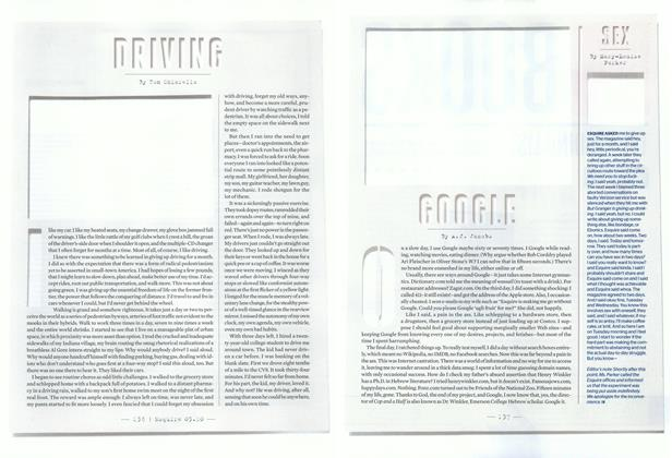 Article Preview: Sex, March 2010 | Esquire