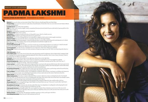 Padma Lakshmi - May | Esquire