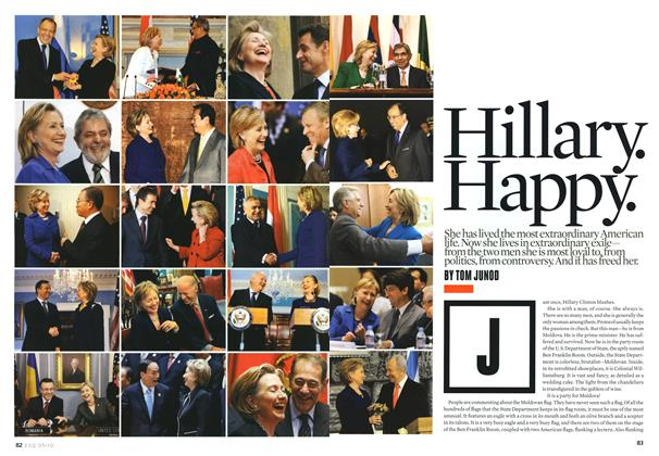 Article Preview: Hillary. Happy., May 2010 | Esquire