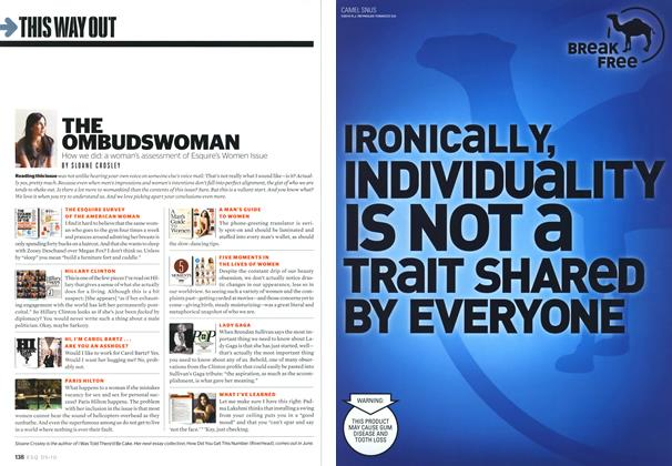 Article Preview: The Ombudswoman, MAY 2010 2010 | Esquire
