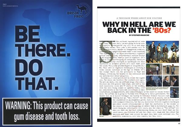 Article Preview: Why in Hell Are We Back in the '80s?, JUNE/JULY 2010 | Esquire