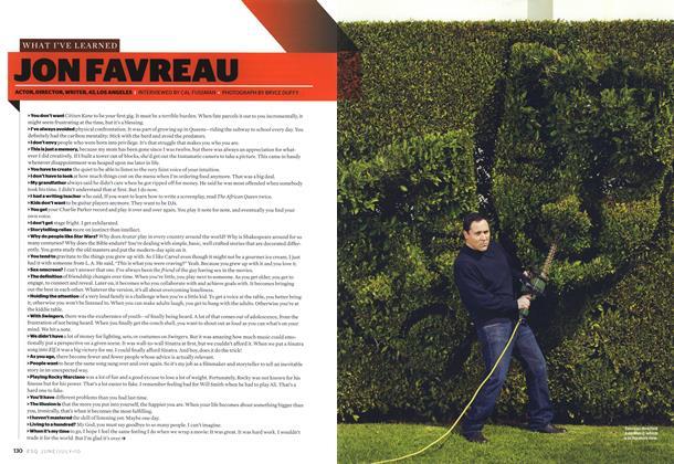 Article Preview: Jon Favreau, JUNE/JULY 2010 | Esquire