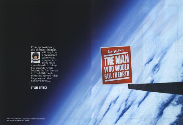 Article Preview: The Man Who Would Fall to Earth, AUGUST 2010 2010 | Esquire