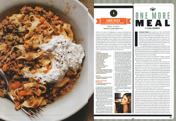 Article Preview: ONE MORE MEAL, SEPTEMBER 2010 2010 | Esquire