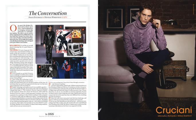 Article Preview: Italo Zucchelli & Neville Wakefield (2 of 3), SEPTEMBER 15, 2010 2010 | Esquire