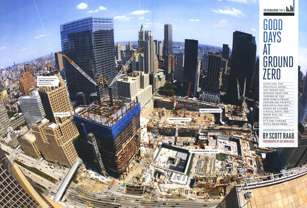 Article Preview: Good Days at Ground Zero, October 2010 | Esquire