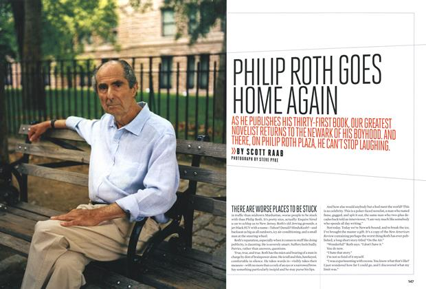 Article Preview: Philip Roth Goes Home Again, October 2010 | Esquire