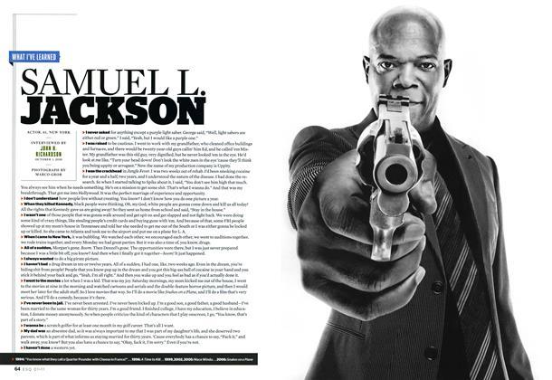 Article Preview: Samuel L. Jackson, JANUARY 2011 2011 | Esquire