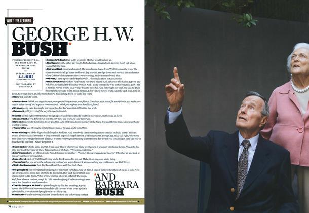 George H.W. and Barbara Bush