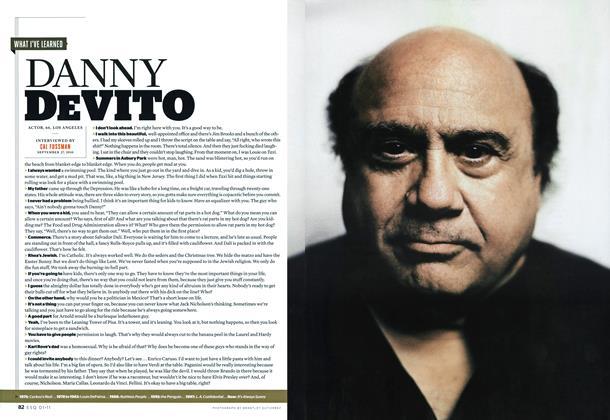 Article Preview: Danny DeVito, JANUARY 2011 2011   Esquire