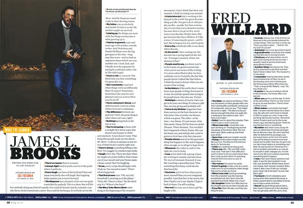 Article Preview: James L. Brooks, JANUARY 2011 2011 | Esquire