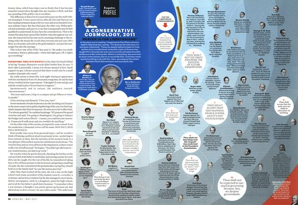 Article Preview: A Conservative Cosmology, 2011, MAY 2011 2011 | Esquire