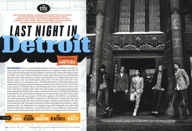 Article Preview: Last Night in Detroit, May 2011 | Esquire