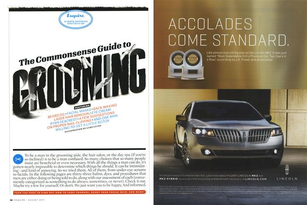 Article Preview: The Commonsense Guide to Grooming, August 2011 | Esquire