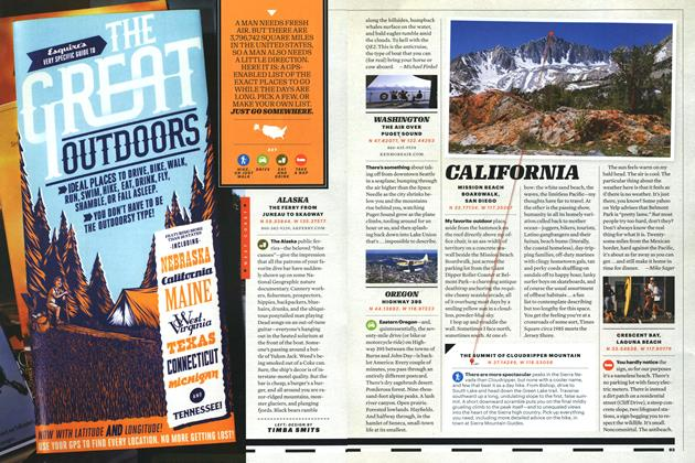 Article Preview: Esquire's Very Specific Guide to the Great Outdoors, August 2011 | Esquire