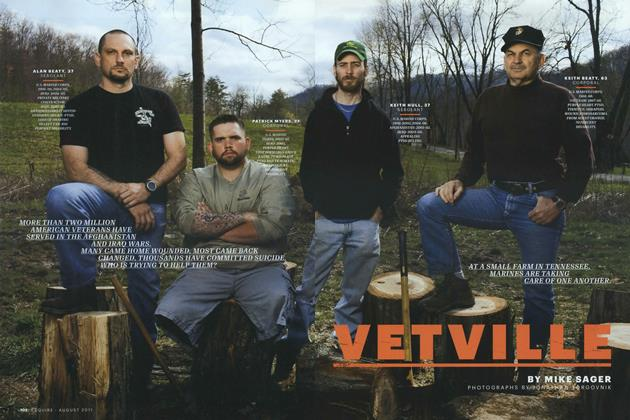 Article Preview: Vetville, August 2011 | Esquire