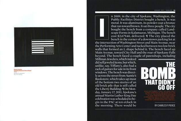 Article Preview: The Bomb That Didn't Go Off, AUGUST 2011 2011 | Esquire