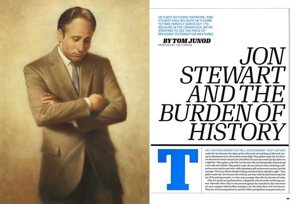 Jon Stewart and the Burden of History