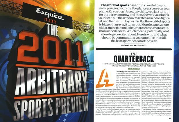 Article Preview: The Quarterback, October 2011 | Esquire
