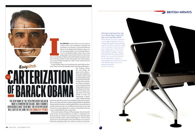 Article Preview: The Carterization of Barack Obama, December 2011 | Esquire