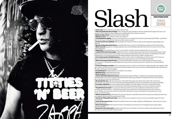 Article Preview: Slash, January 2012 | Esquire
